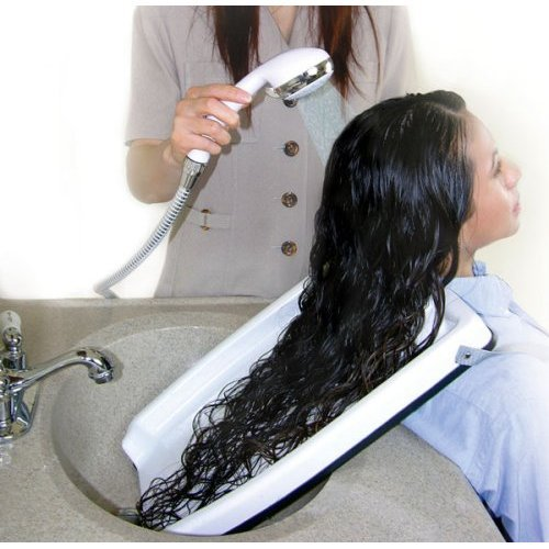 #1 Hair Washing Tray (For Home Or Salon U2013 Use With Chair Or Wheel Chair)