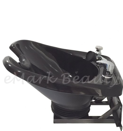 Shampoo Bowl Sink with a Tilt Mechanism with hot and cold water