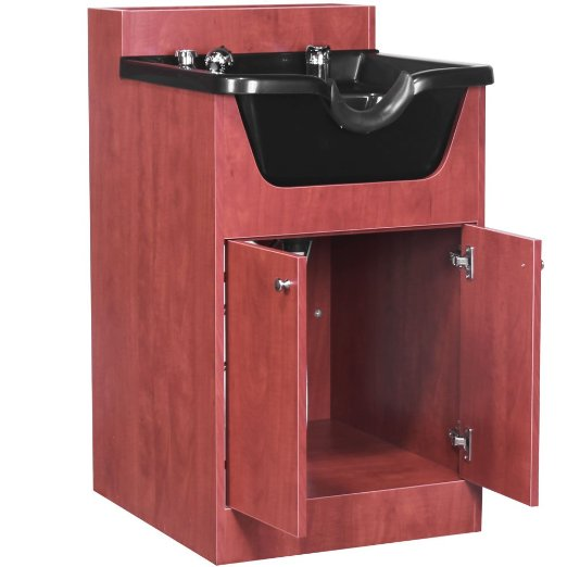 Shampoo Bowl Cabinet- How it Works, It's Parts, Pros and Cons