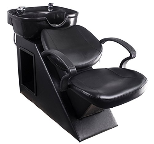 Polar Aurora New Backwash Barber Chair Shampoo Bowl Sink Unit Station Spa Salon Equipment