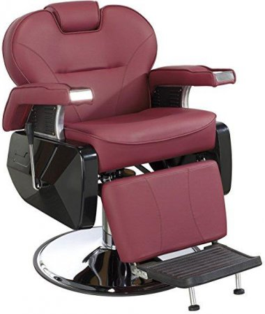 All Purpose Hydraulic Recline Barber Chair Salon Spa J: