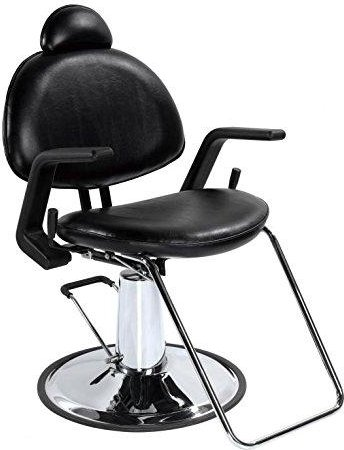 BestSalon® New Black Hydraulic Recline All Purpose Barber Styling Chair Shampoo:
