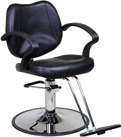 "Icarus ""Mae"" Black Beauty Salon Chair"