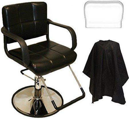 LCL Beauty Salon Hydraulic Styling Chair with FREE Deluxe Cutting Cape: