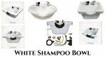 White Shampoo Bowl
