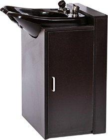 ABS Plastic Backwash Shampoo Bowl With Floor Cabinet TLC B13FC