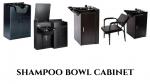 shampoo bowl cabinet