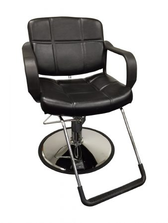 20_ Wide Hydraulic Barber Chair Styling Salon Beauty Equipment