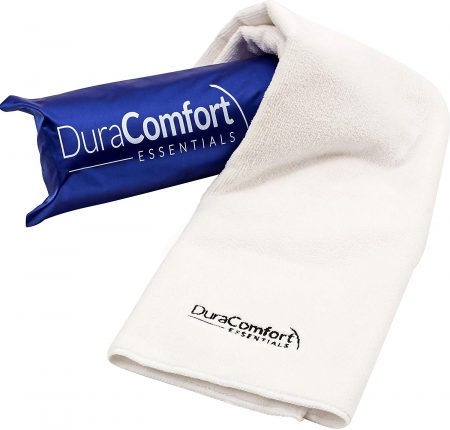 DuraComfort Essentials Super Absorbent Anti-Frizz Microfiber Hair Towel