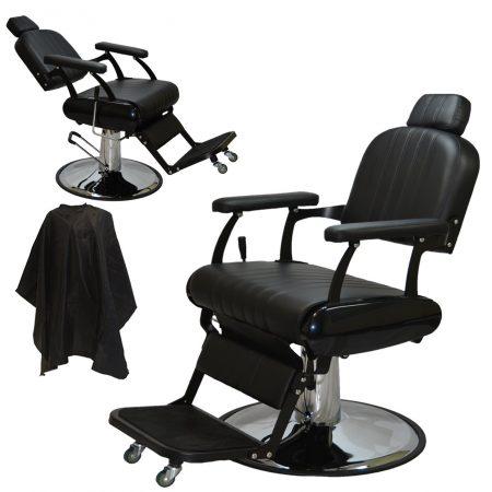 Style Reclining Hydraulic Barber Salon Chair