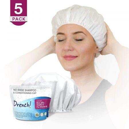 Luxury No Rinse Shampoo Caps