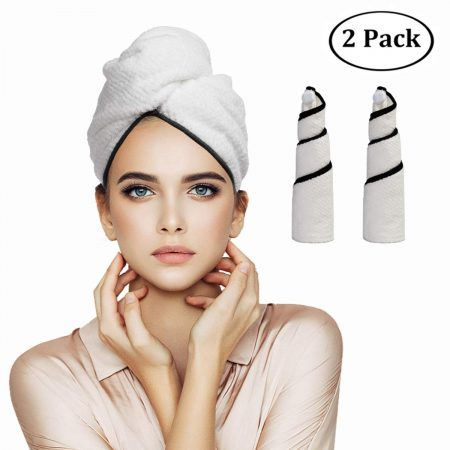Orthland Microfiber Hair Towel Wraps for Women